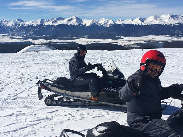 Spring Break Snowmobile Rental