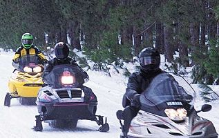 Snowmobile Tour in Breckenridge
