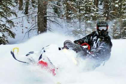 Snowmobile Tour or Unguided Snowmobile Rental