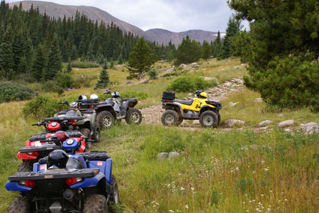 Side-by-Side/ATV Rental in Colorado Fall