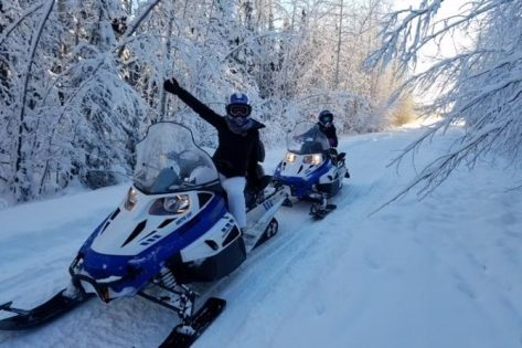 Unguided Snowmobile Rentals