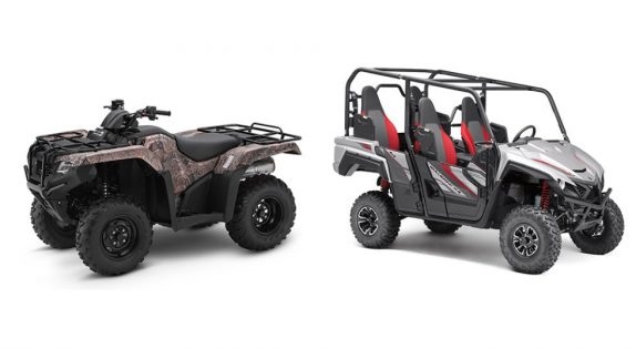atv and side-by-side rental